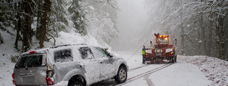 Bad Weather Safety and Towing